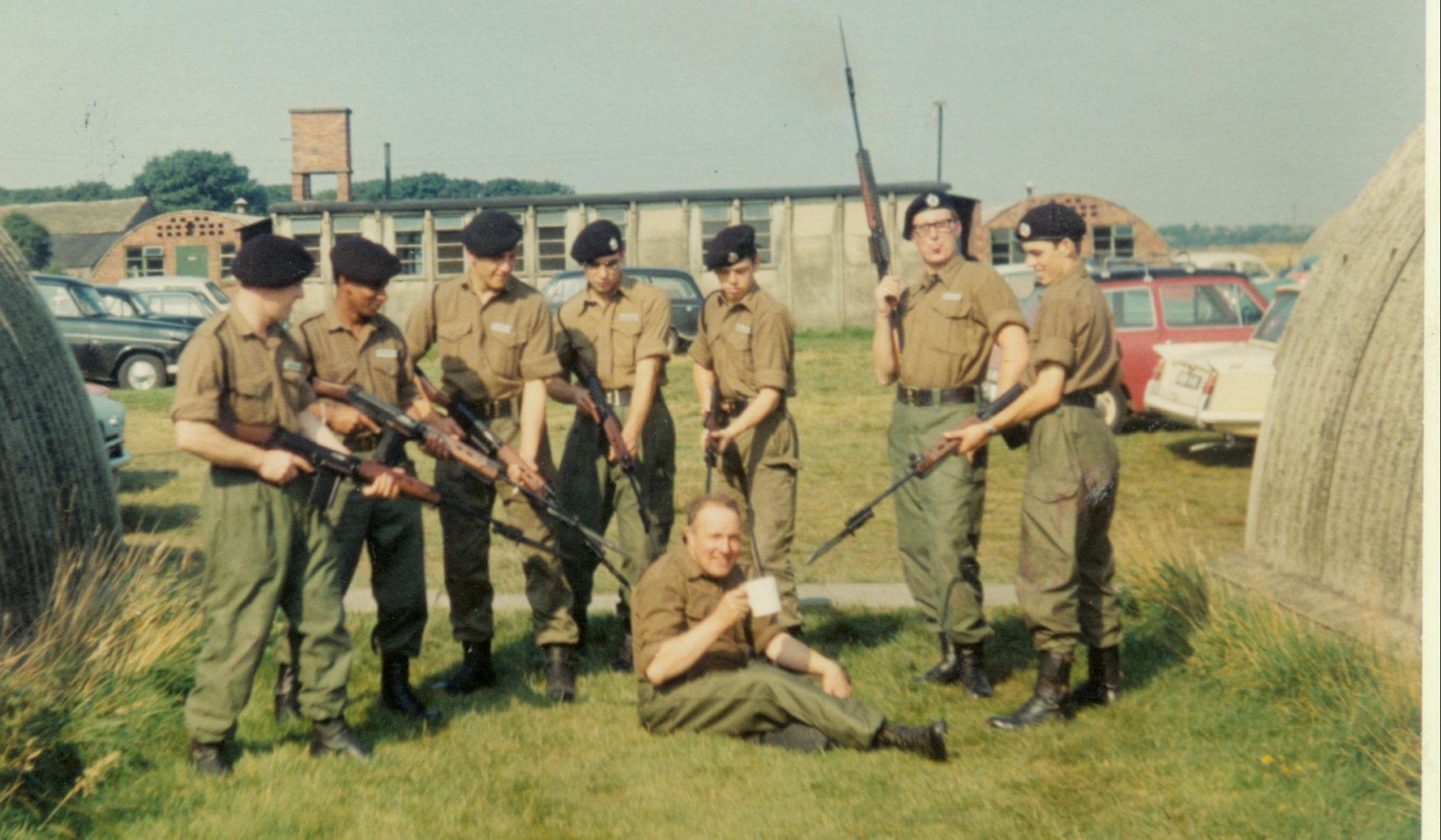 group with rifles