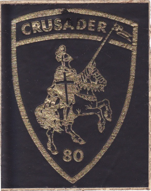 Crusader Badge