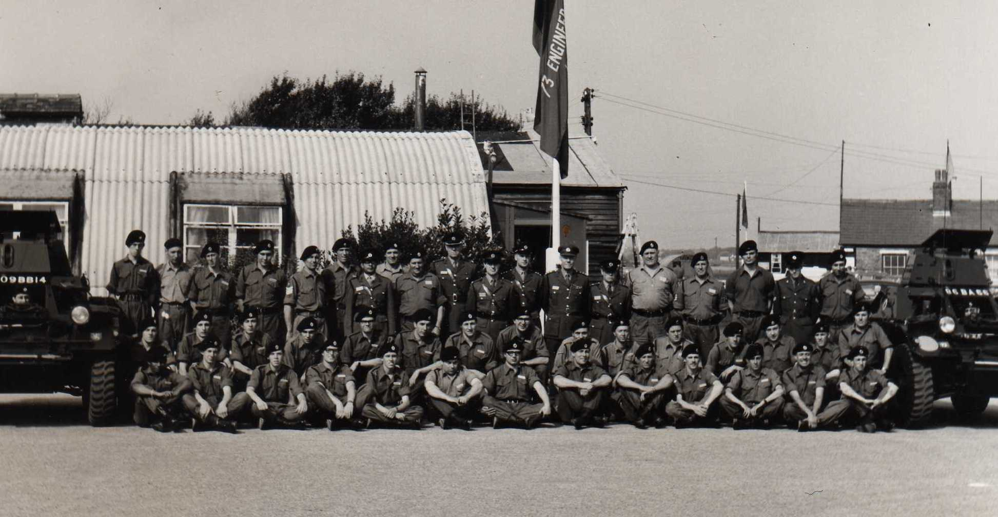Sqn photo, 1969 Camp, Altcar