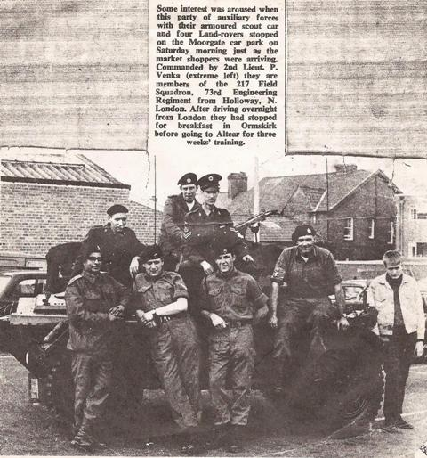 En route to 1973 Camp, Altcar